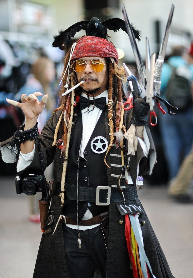 cosplay, wie Johnny Depp