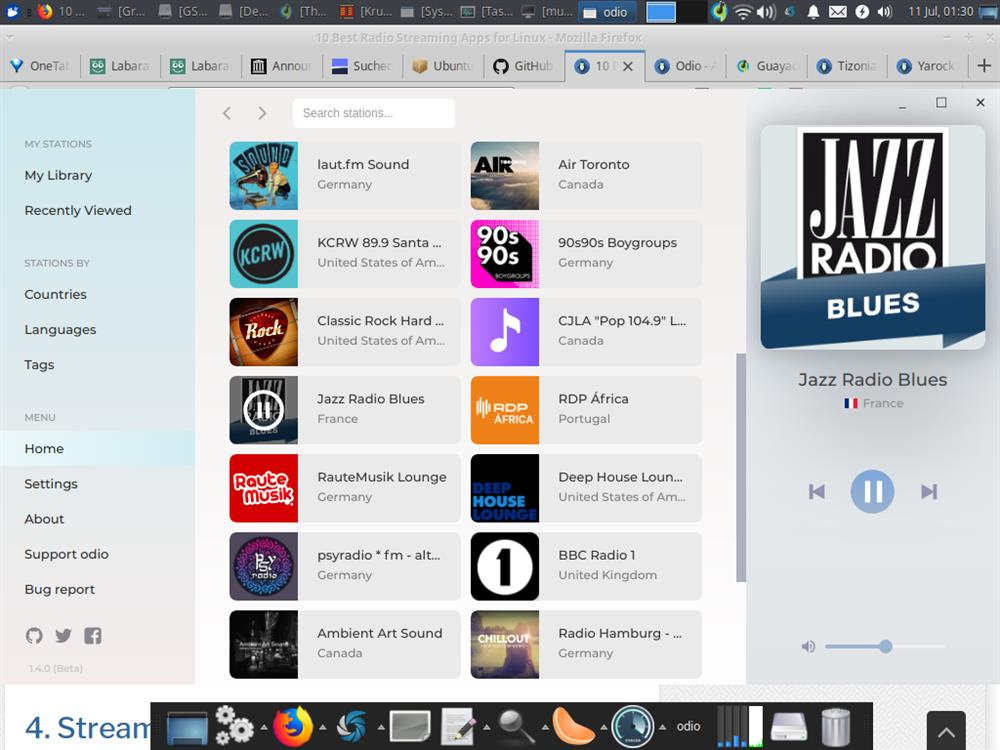 Linux Apps 10 Best Radio Streaming Apps for Linux